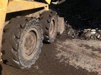 Nu-Air Tires on Case 1840 in Denmark scrap yard